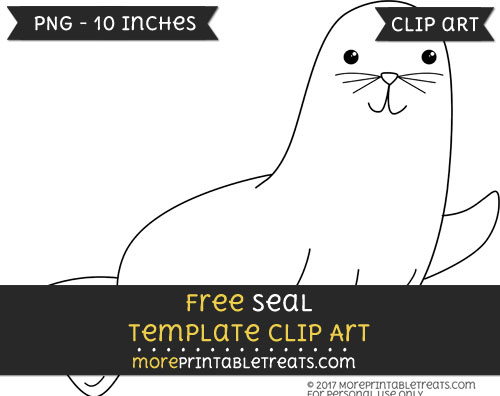 Free Seal Template - Clipart