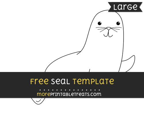 Free Seal Template - Large