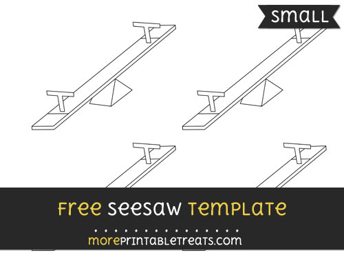 Free Seesaw Template - Small