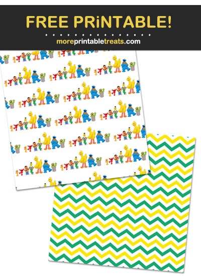 Free Printable Sesame Street Backgrounds