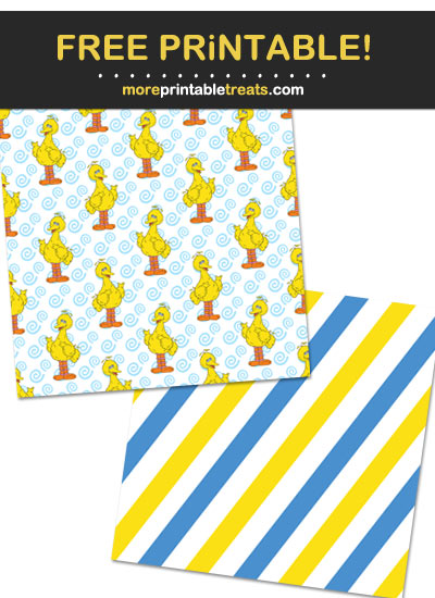 Free Printable Sesame Street Characters Backgrounds