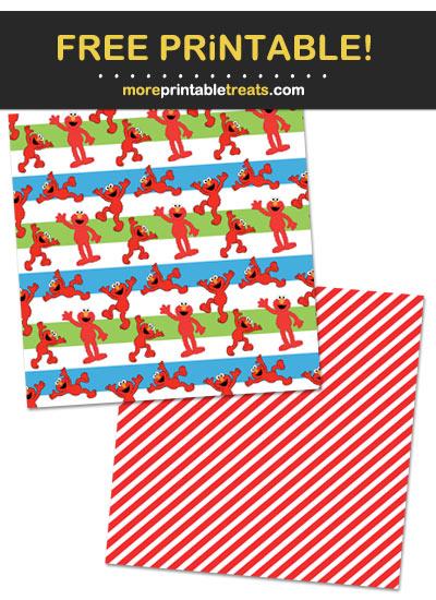 Free Printable Sesame Street Theme Paper