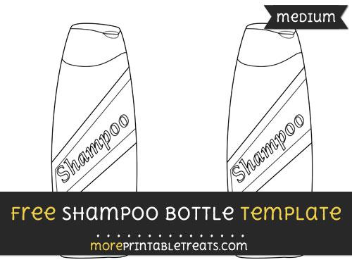 Free Shampoo Template - Medium