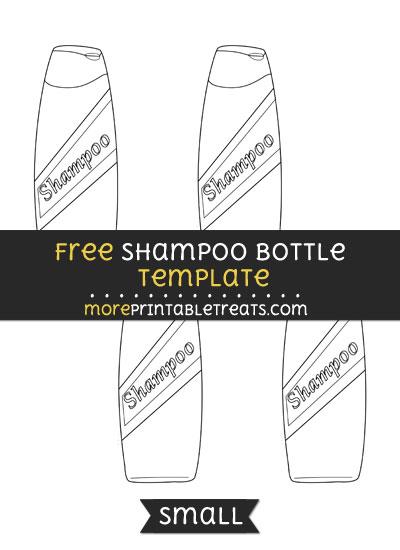 Free Shampoo Template - Small
