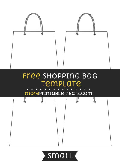 Free Shopping Bag Template - Small