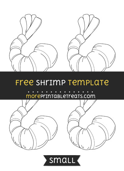Free Shrimp Template - Small
