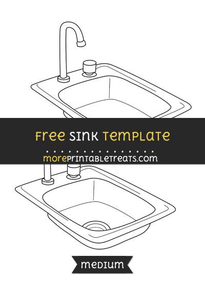 Free Sink Template - Medium
