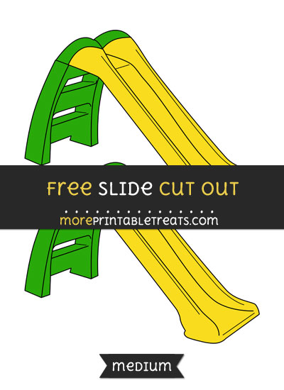 Free Slide Cut Out - Medium Size Printable