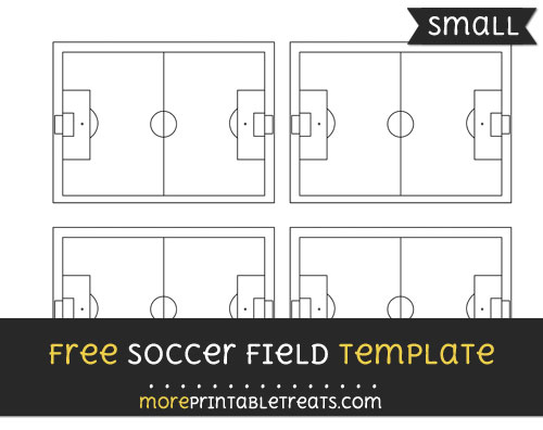 Free Soccer Field Template - Small