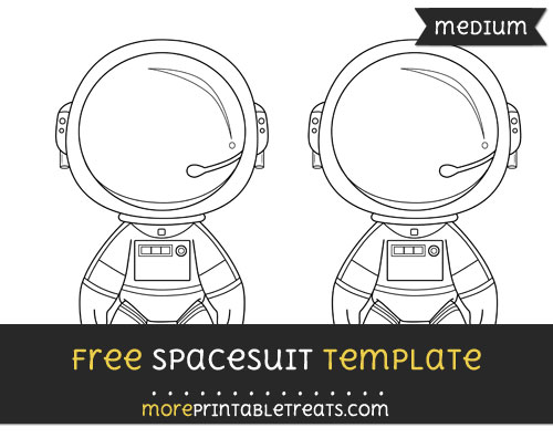 Free Spacesuit Template - Medium