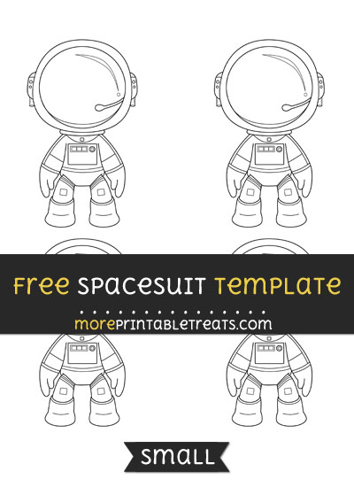 Free Spacesuit Template - Small