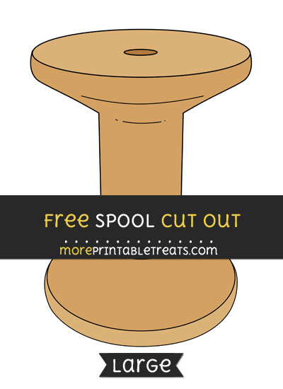 Free Spool Cut Out - Large size printable