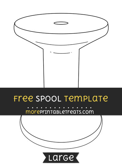 Free Spool Template - Large