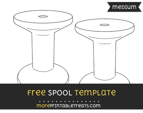 Free Spool Template - Medium