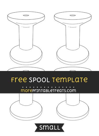 Free Spool Template - Small
