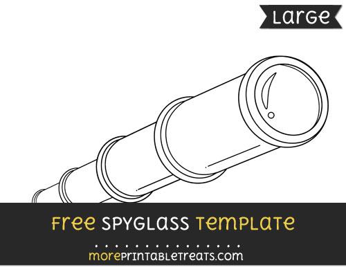 Free Spyglass Template - Large