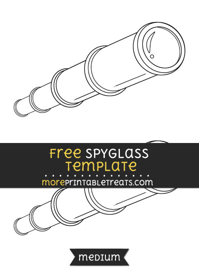 Free Spyglass Template - Medium