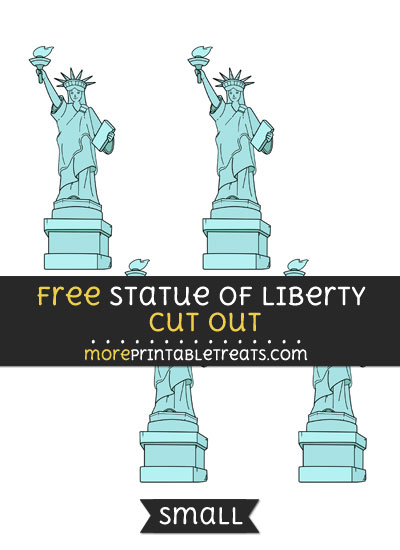 Free Statue Of Liberty Cut Out - Small Size Printable
