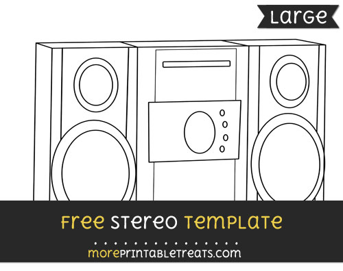 Free Stereo Template - Large