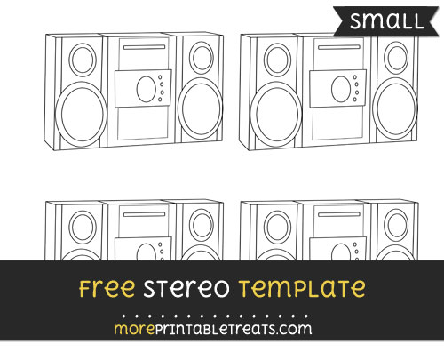 Free Stereo Template - Small