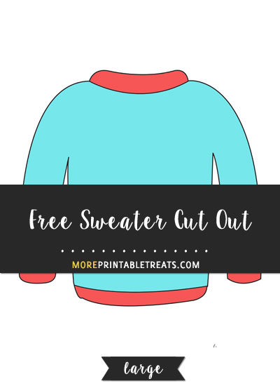 Free Sweater Cut Out - Large
