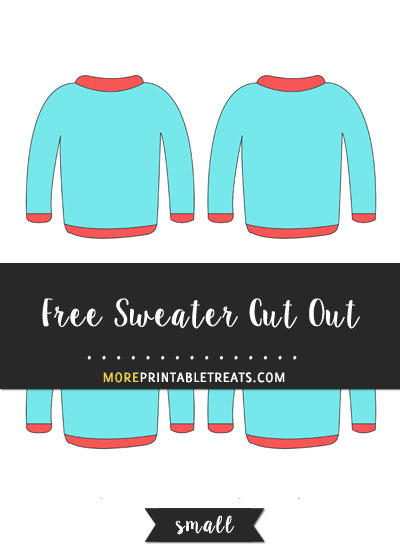 Free Sweater Cut Out - Small