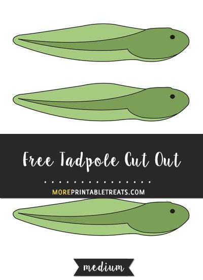 Free Tadpole Cut Out - Medium