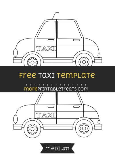 Free Taxi Template - Medium