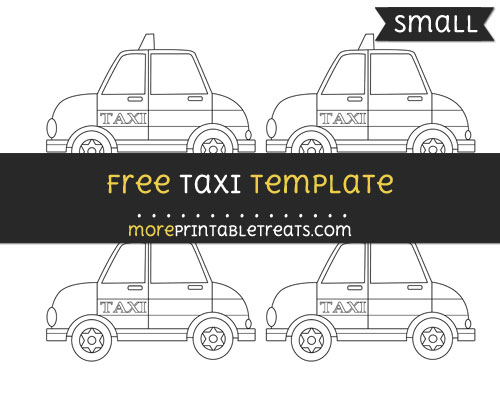 Free Taxi Template - Small