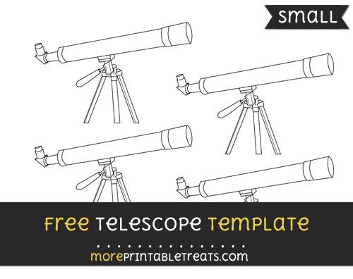Free Telescope Template - Small
