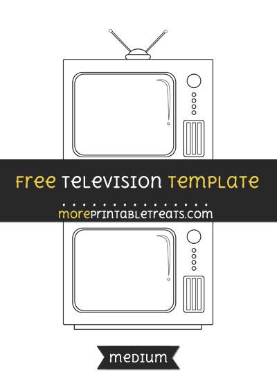 Free Television Template - Medium