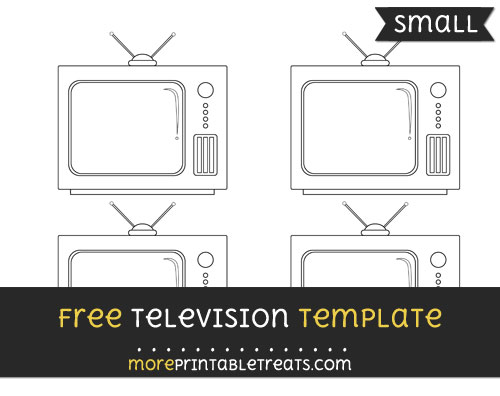 Free Television Template - Small