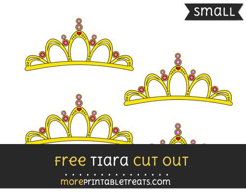 Free Tiara Cut Out - Small Size Printable