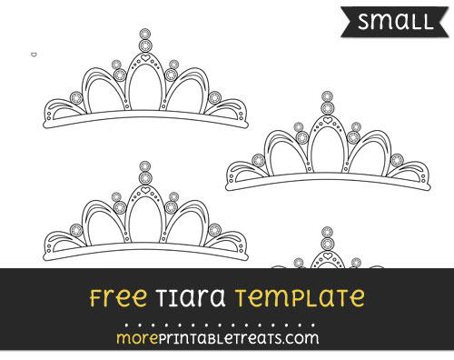 Free Tiara Template - Small