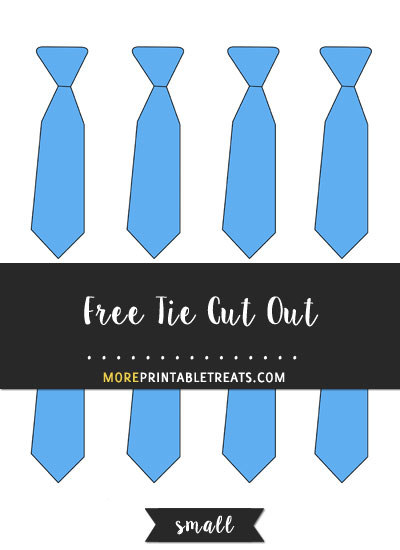 Free Tie Cut Out - Small