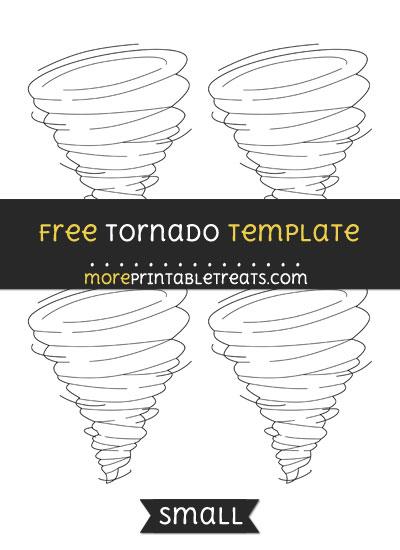 Free Tornado Template - Small