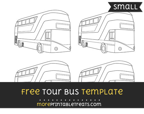 Free Tour Bus Template - Small