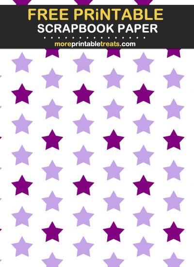 Free Printable Two Tone Purple Scrapbook Paper