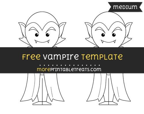 Free Vampire Template - Medium