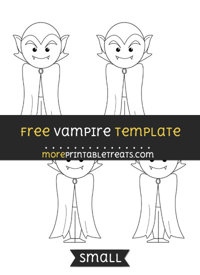 Free Vampire Template - Small