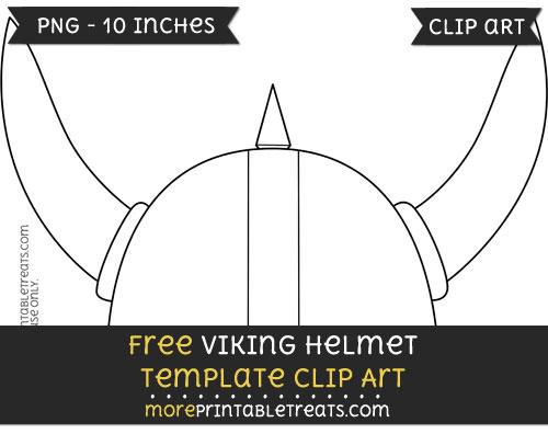 Free Viking Helmet Template - Clipart