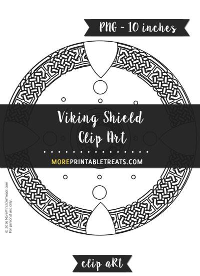 Free Viking Shield Template - Clipart
