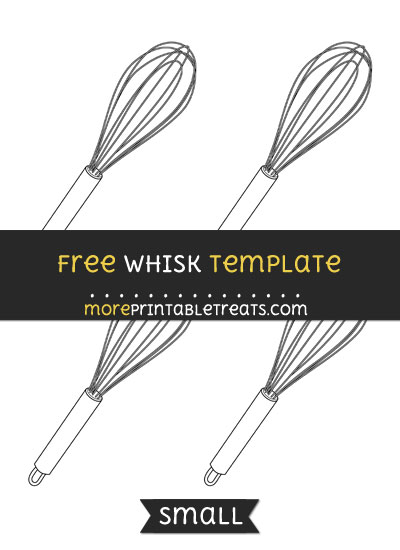 Free Whisk Template - Small